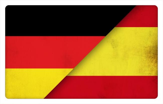 Spanien-Deutschland