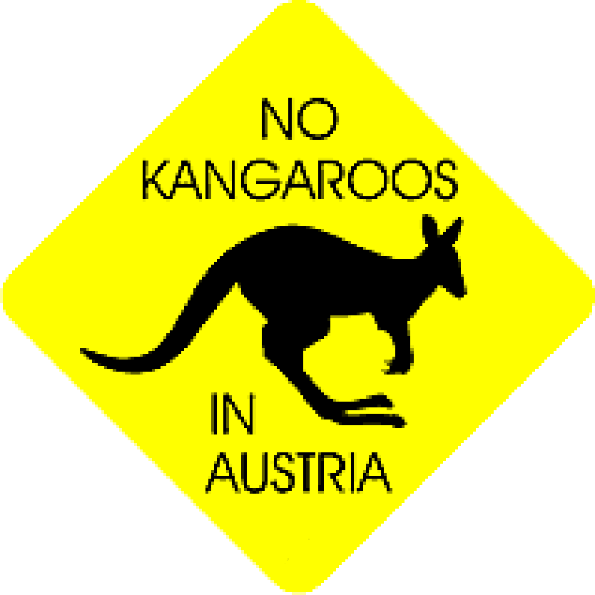 No hay canguros en Austria