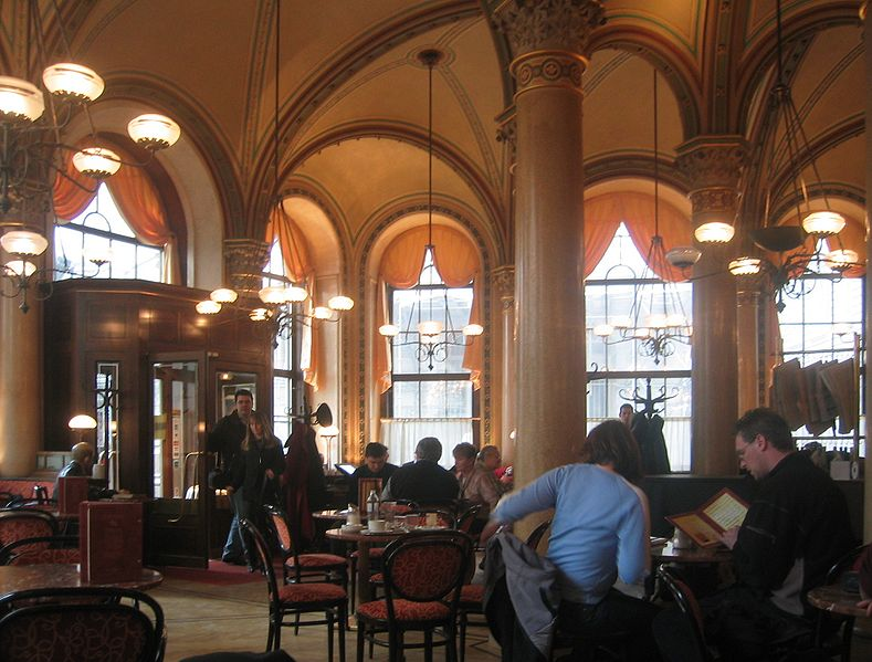 El Café Central de Viena