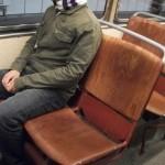 El asiento caliente del tram
