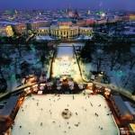 Wiener Eistraum, la pista de patinaje de Viena
