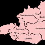Los Bundesländer de Austria
