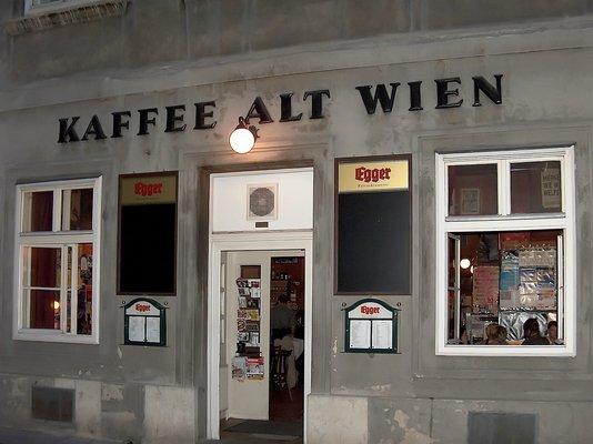 Cafe alt wien