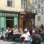 Kleines Café, la pequeña cafetería