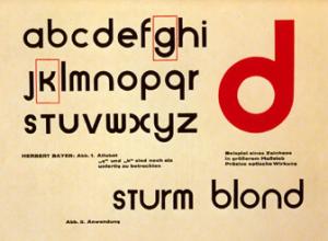 Herbert Bayer font