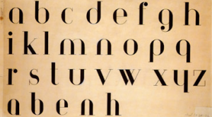 Herbert Bayer fonts