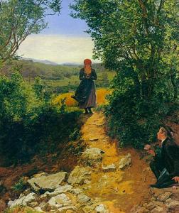 Die Erwartete, 1860