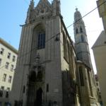 El gótico en Viena: la iglesia de Maria Am Gestade