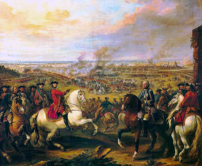 batalla de fontenoy