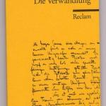 "La ""Verwandlung"" de Kafka"