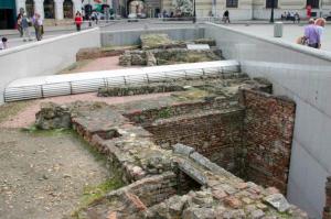 ruinas romanas viena