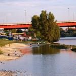 Playas en el Danubio