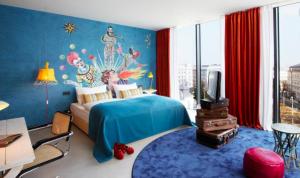habitación hotel 25hours Viena