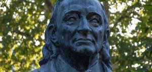 Busto de Josef Madersperger en  Karlsplatz