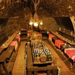 Esterhazykeller, comida tradicional en unos sótanos centenarios