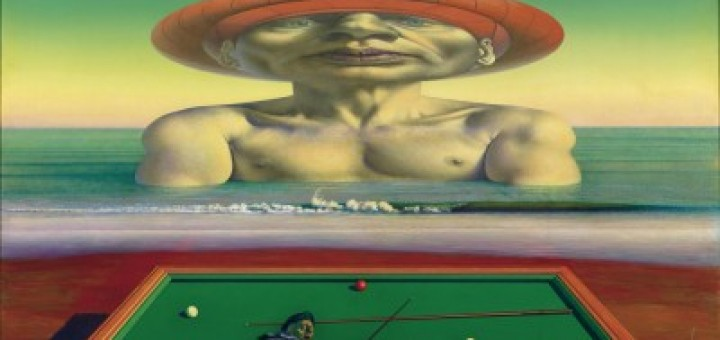 Alter Billiardspieler, Rudolf Hausner