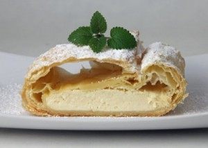 topfenstrudel pastel de queso