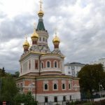 La iglesia ortodoxa rusa de San Nicolás