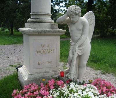 tumba de mozart